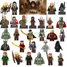 Legoing Lord Of The Rings Wraith Rider Bowman Mordor Gandalf Boromir Models Avtion Figures Building Blocks Kids Toys Hobbit Gift(China)