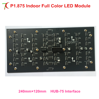 P1.875 indoor full color led board for high definition led video wall led display