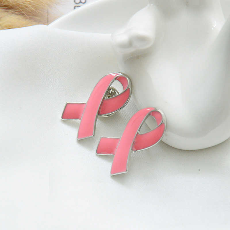 Mziking Payudara Baru Bros untuk Wanita Pink Pita Bros Kerah Enamel Pin Perhiasan Kerah Pin Aksesoris Pakaian Pesta Brosh