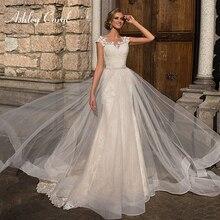 Ashley Carol Appliques 2 In 1 Mermaid Wedding Dress V-neck