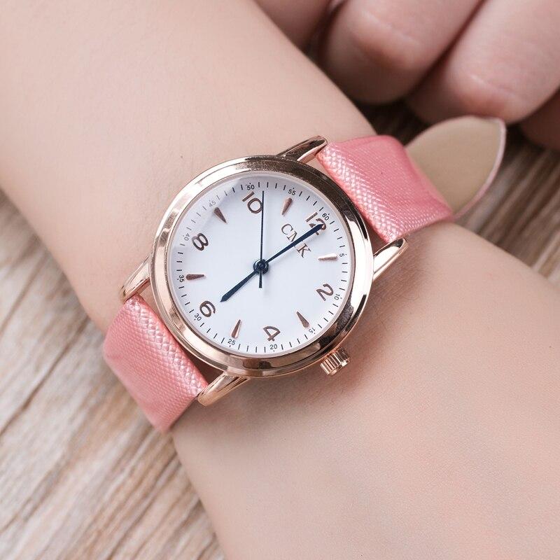 CMK Brand Quartz Women Watch Fashion Dress Leather Female Rose Gold WristWatch Ladies Luxury Clock Beautiful Gift  Relojes Mujer
