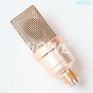 Image 3 - Büyük diyafram kardioid kondenser TLM102 mikrofon ağ PC sahne şarkı kayıt mikrofon MiCWL