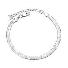 Everoyal Trendy 925 Sterling Silver Bracelet For Women Party Accessories Fashion Snake Chain Bracelets Girls Lady Jewelry