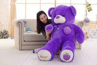 Мягкая игрушка Огромный 160 см фиолетовый виноград Фрукты плюшевый мишка игрушка медведь кукла обниматься Рождество подарок, b0789