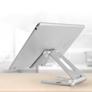 Image 5 - Mobil telefon braketi masaüstü tutucu evrensel Tablet akıllı telefon standı cep telefonu aksesuarları