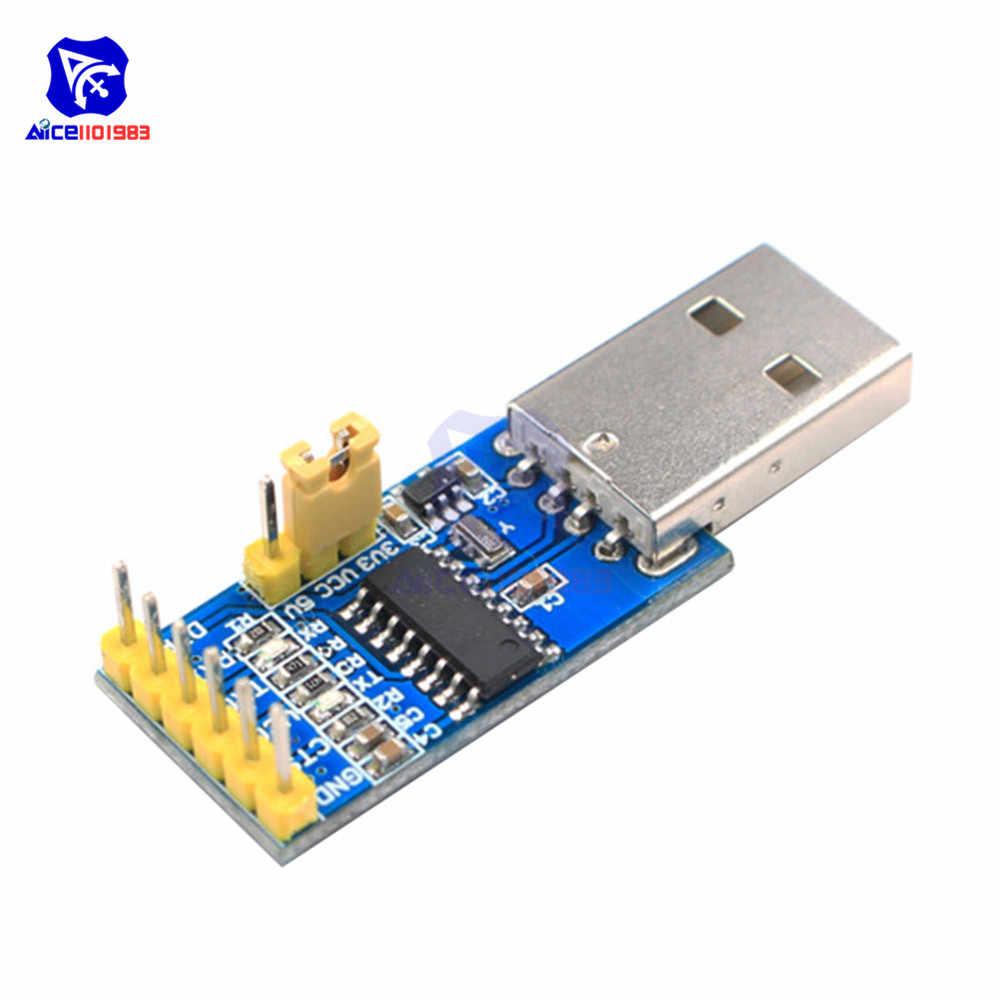 CH340G USB para Adaptador Serial TTL 3.3 V/5 V Downloader para Arduino Pro Mini