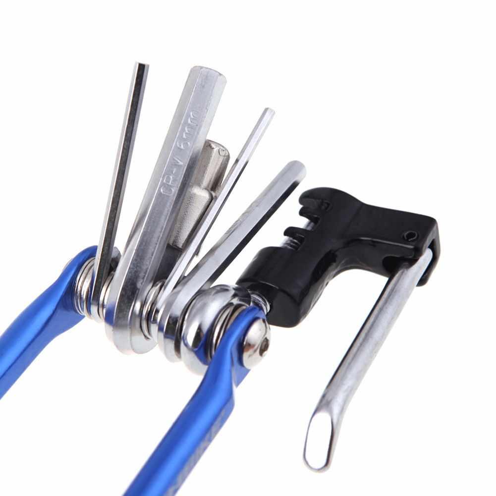 15 в 1 Набор инструментов для ремонта велосипеда с шестигранной спицей, отвертка, гаечный ключ, наборы инструментов для горного цикла, черный