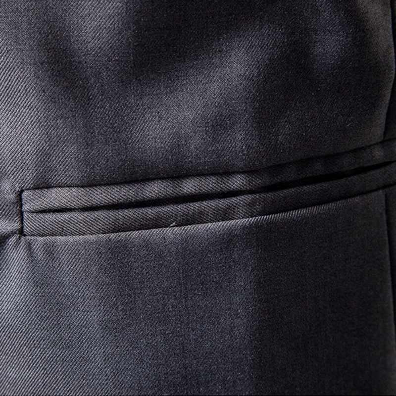 男性カジュアルセクシーなビジネスコート 2018 新メンズカジュアルスリムボタンスーツブレザーコートジャケットトップスシュージン FF