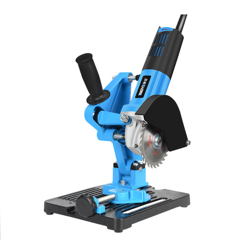 100-125 Angle Grinder Stand Angle Cutter Support Bracket Holder Dock Cast Iron Base Holder Power Tool Accessories