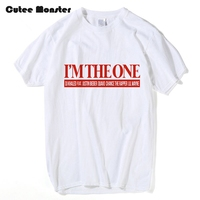 Im The One DJ Khaled T Shirt American Record Producer Billboard Hot 100 Songs Letter Top