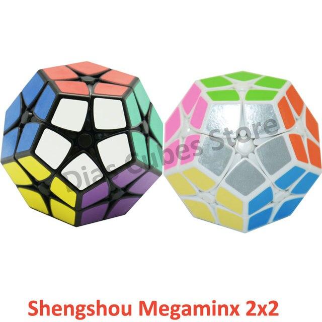 2016 Shengshou Megaminx 2x2 Magic Cubes Professional Magico Cubo Speed Twist Puzzle Educational Toy