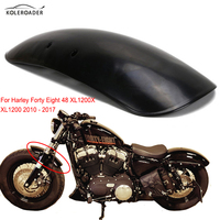 Retro Vintage Metal Motorcycle Fender Mudguard For Harley Forty Eight Sportster 48 XL1200X 2010 2017 Garde