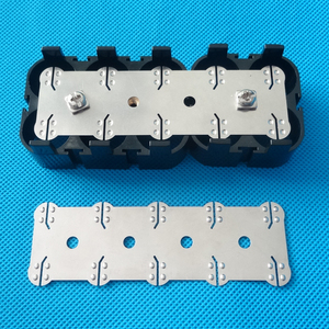 Image 4 - 18650 battery nickel belt 4P 6P 10P Lithium ion cell pure nickel strip Cell center spacing 21mm For 18650 battery 4P 6P holder