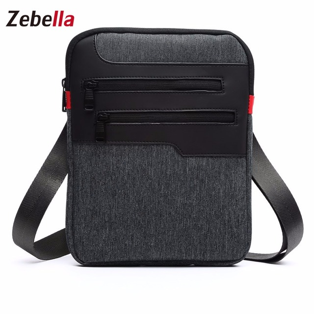 Casual Mens Messenger Shoulder Bag For iPad Satchel Nylon Travel Business Briefcase Chest Pack Handbag 2