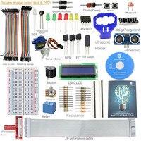 SunFounder Ultrasonic Relay Sensor Electronic Bricks Starter Kit With 26 Pin GPIO Extension Board For Raspberry
