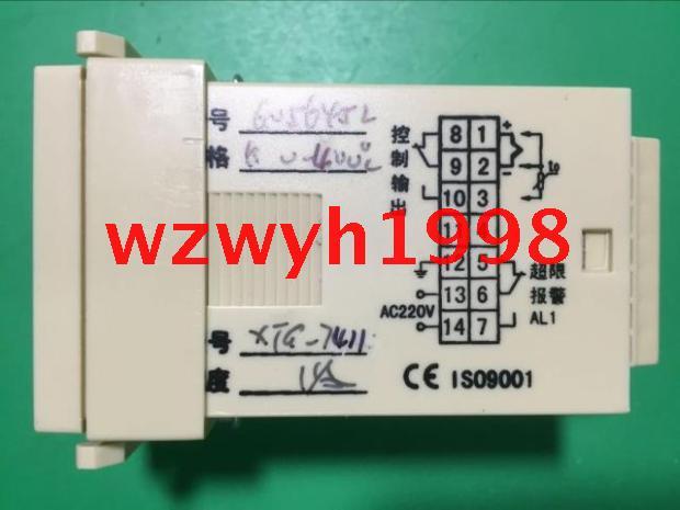 XTG-7000 intelligent temperature controller Yuyao temperature meter factory XTG-7411 bkc tme7711z intelligent temperature controller tme 7711z scr temperature controller k type 0 400