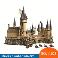 BELA NEW 11025 Harry Magic Potter Hogwarts Castle Compatible 71043 Building Blocks Bricks Kids Educational Toys For Children