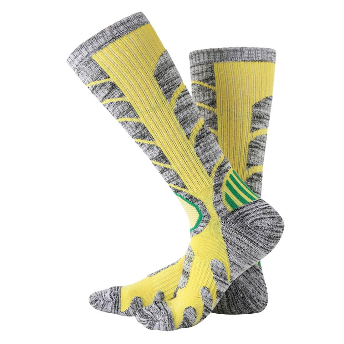 2018 NEW Men Women Thermal Ski Socks Thick Cotton Sports Snowboard Cycling Skiing Soccer Socks Leg Warmers Long Socks