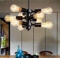 Скандинавский Лофт стиль Железный арт Droplight Эдисон подвесные светильники для столовой подвесной светильник винтажное промышленное освеще...