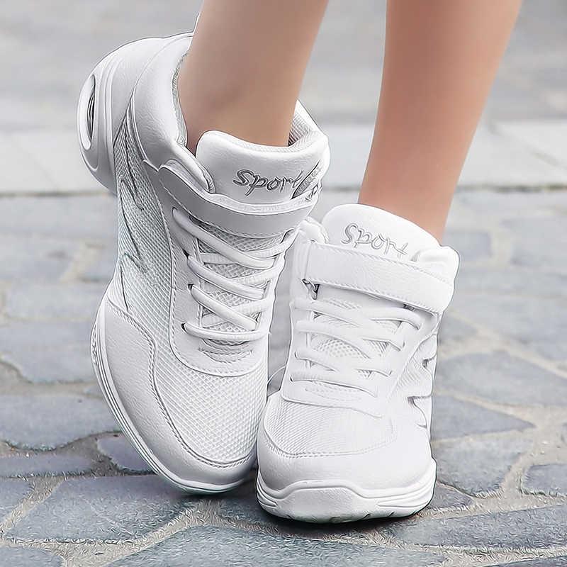Nuevos zapatos de baile de suela suave para mujer, zapatillas deportivas, zapatillas de baile de Jazz, zapatos de Hip Hop, zapatos de baile para mujer