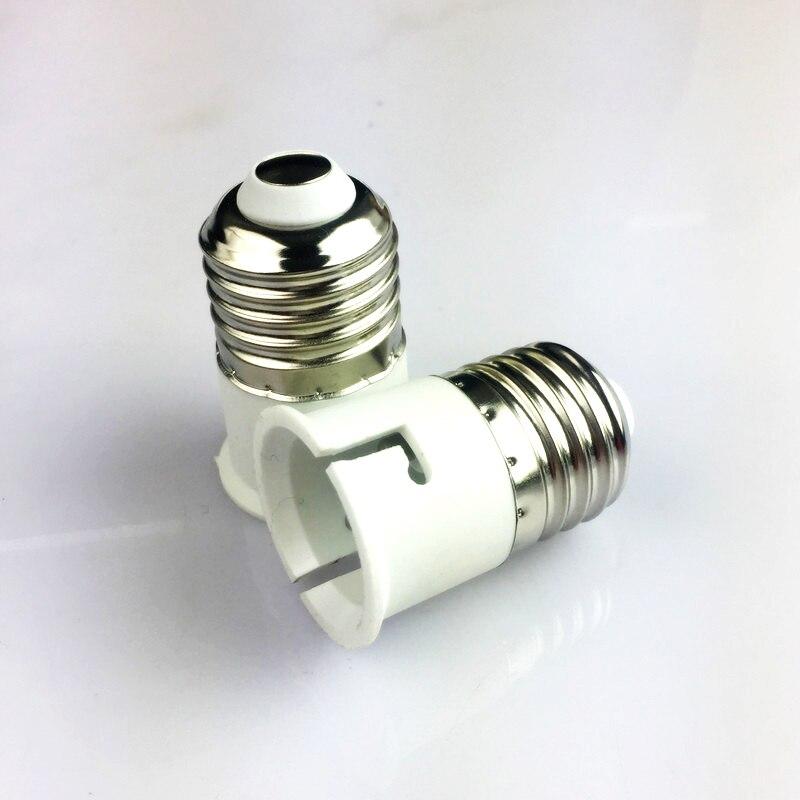 Goodland E27 в B22 Базовая Светодиодная лампа огнеупорный материал адаптера конвертер