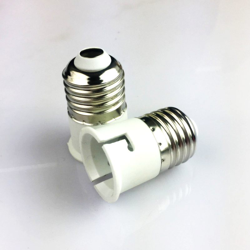 Goodland E27 To B22 Base LED Light Lamp Bulb Fireproof Material Adapter Converter Socket Change