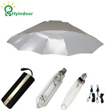 600W Hydroponic Parabolic Dimable Digital Ballasts Grow Lights Kit for Indoor Garden Professional Lighting Seedling Lamp