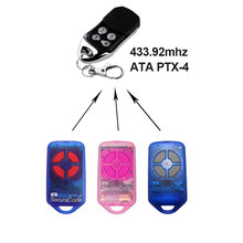 For ATA PTX4 433.92 MHz gate garage door remote control replacement rolling code(China)