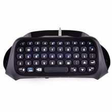 Baru 1 PC untuk Sony PS4 PlayStation 4 Aksesori Controller Mini Nirkabel Bluetooth Keyboard Hitam(China)