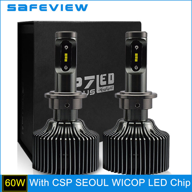 30W 4200LM D2S D2R Car LED Headlight Bulb for CSP LED Chip 5000K 6000K Lighting Source D1S D3S D4S