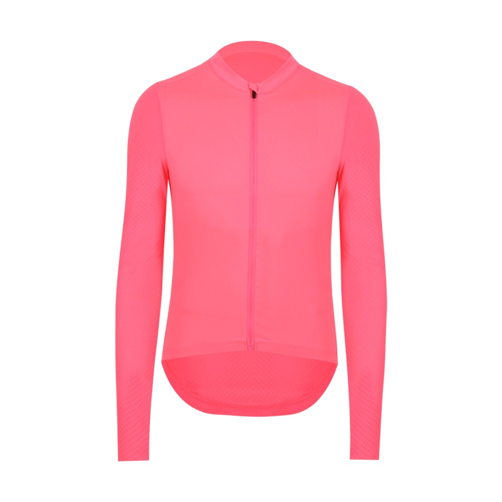 SPEXCEL 2018 Best quality PINK Summer Pro Team aero Long Sleeve Cycling Jersey sun protection cycling shirt with Italy fabricSPEXCEL 2018 Best quality PINK Summer Pro Team aero Long Sleeve Cycling Jersey sun protection cycling shirt with Italy fabric