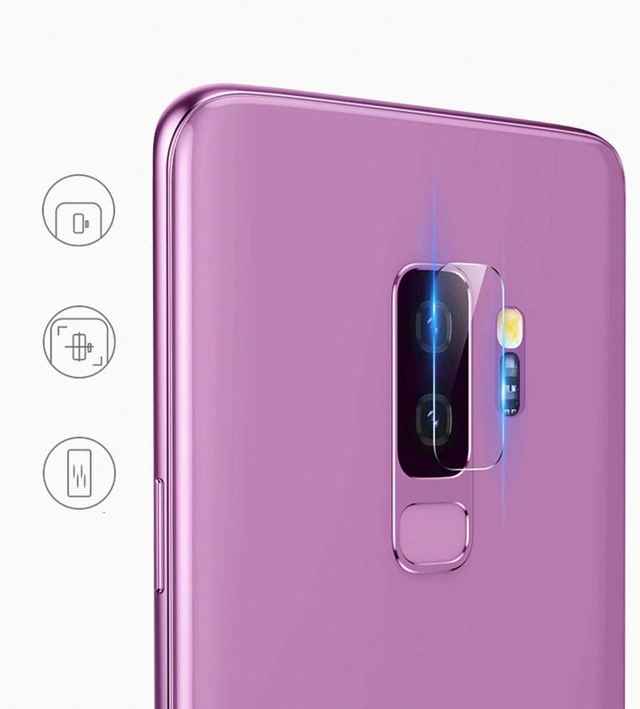 Tempered Glass For SAMSUNG Galaxy A7 2018 A9 2018 J4 J6 Plus 2018 A9s A750F A9 Star Pro Back Camera Lens Screen Protector Film in Phone Screen Protectors from Cellphones Telecommunications