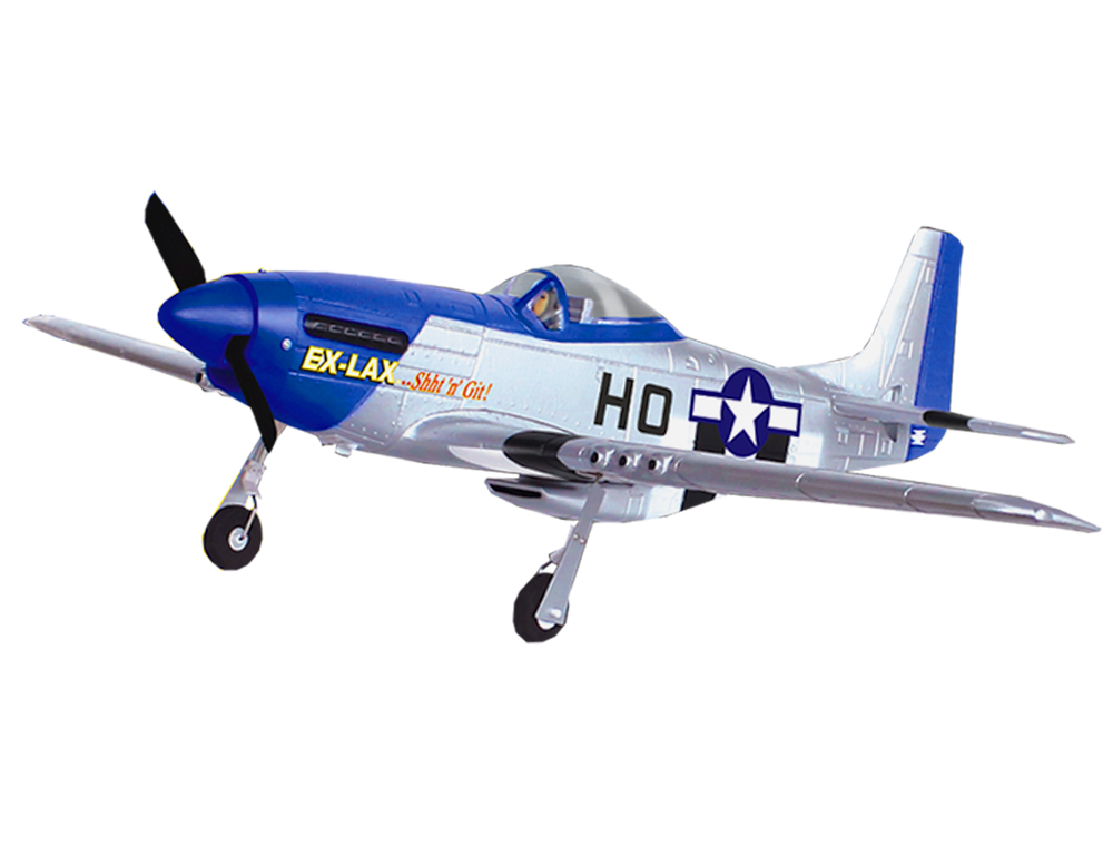 Volantex Mustang RC Propeller PNP/ARF Plane Model W/ Motor Servo ESC W/O Battery