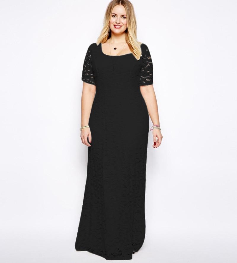 5xl 6xl Plus Size Women Lace Dress 2xl 9xl Summer Maxi Dress ...