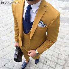 66b53dfaf Wonderful Latest Coat Pant Designs Bespoke Men Suits 2018 Groom Tuxedo  Formal Prom Wedding Suits For Men 3Pcs(Jacket+Pants+Vest)
