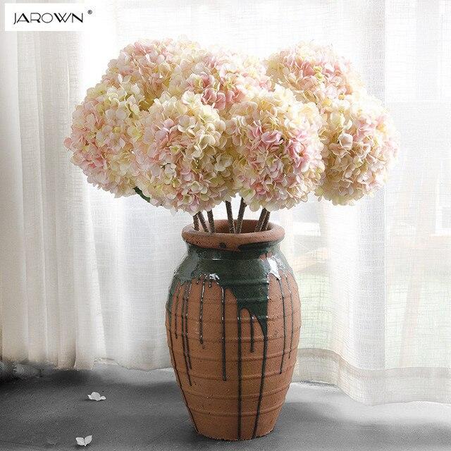 Artificielle Hortensia Fleur De Soie 1 Grande Fleur Bouquet Fleur