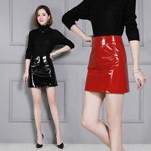 2018 New Fashion Genuine Sheep Leather Skirt K16