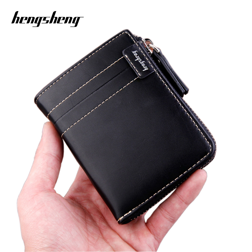 2020 New Famous Brand Men Wallet With Coin Bag Zipper Purse Fashion Wallet Coin Purses Wallet Carteira Feminina