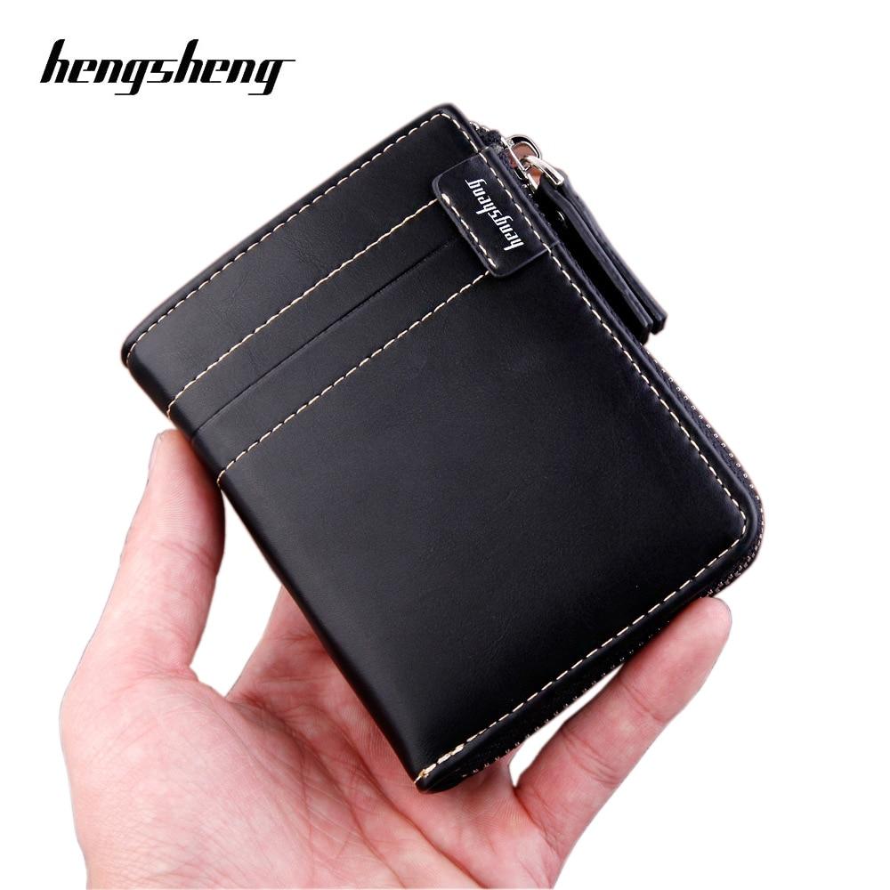 2020 New Famous Brand Men Wallet With Coin Bag Zipper Purse Fashion Wallet Coin Purses Wallet Carteira Feminina