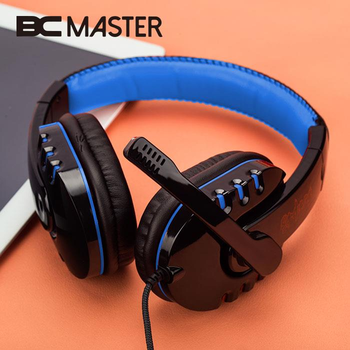 BCMaster USB 3.5mm Wired Stereo Gaming Headphone Earphone W/ MIC For PC Laptop Gamer