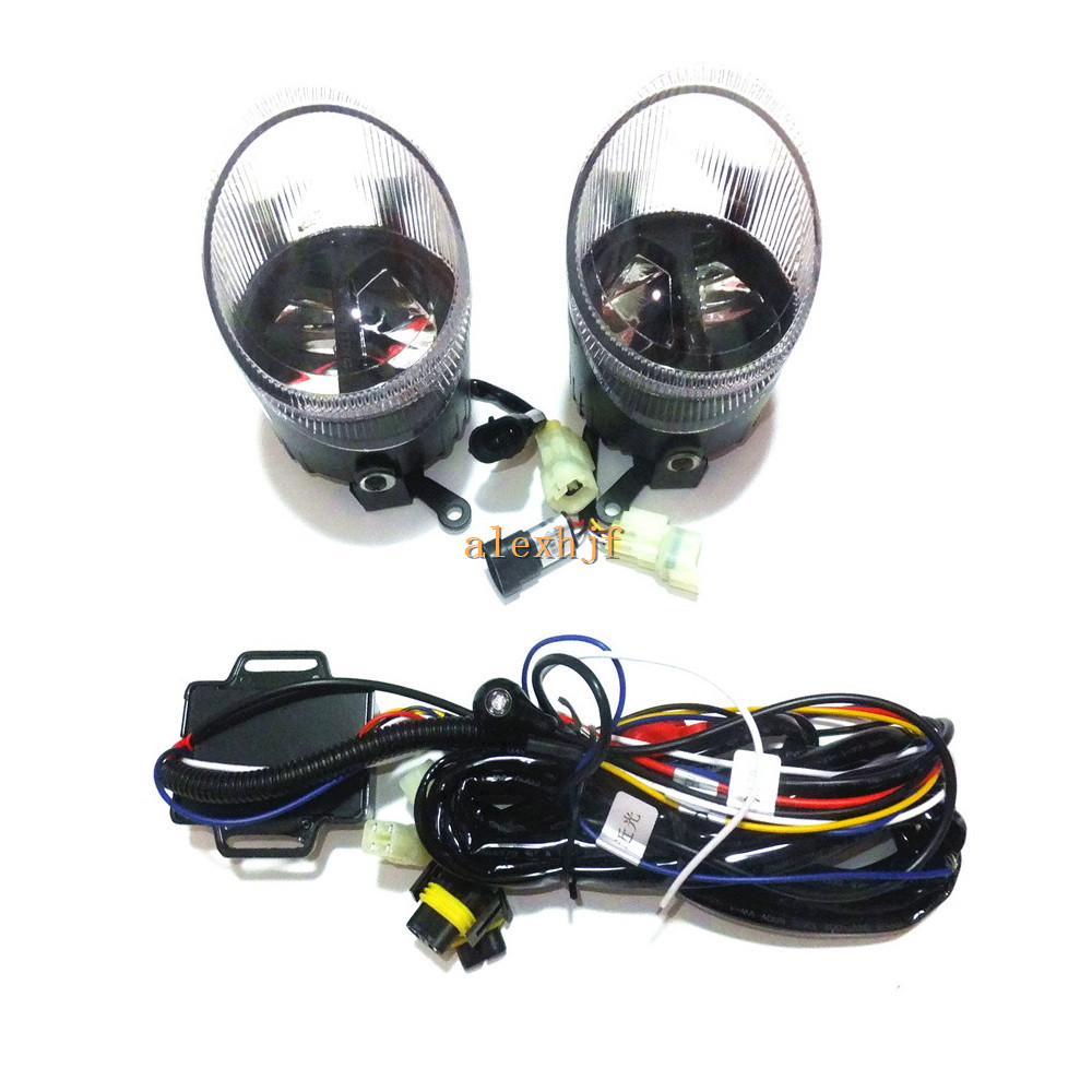 Yeats 1400LM 24W LED Fog Lamp, High-beam + Low-beam+ 560LM DRL Case For Volkswagen Caddy III 2010.09+, Automatic light-sensitive yeats w the celtic twilight кельтские сумерки на англ яз