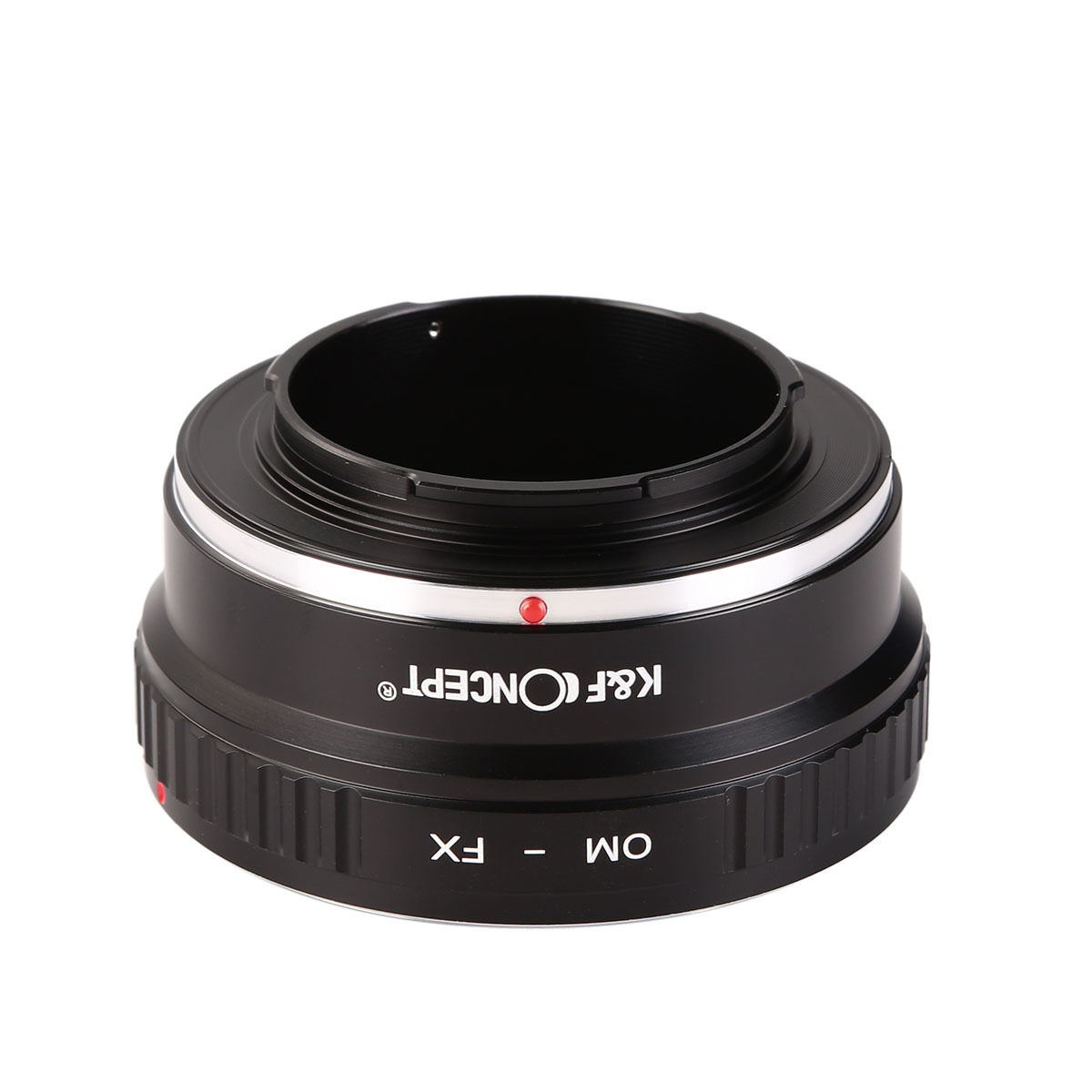 Amopofo OM-FX Lens Adapter for Olympus OM Lens to Fuji X-Mount Adapter XF XC Fujifilm E2 M1 A1 Pro1