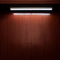 USB Rechargeable Closet Light Motion Detector Wall Lamp Automatic Sensor Aluminum Cabinet Light 6000K 6500K White 5W