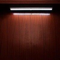 USB Rechargeable Closet Light Motion Detector Wall Lamp Automatic Sensor Aluminum Cabinet Light 6000K 6500K White 5W