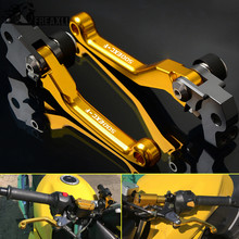 Pivot Dirt bike Motocross Aluminum Brake Clutch Levers For KTM 500EXC-F 500 EXC F 2012 2013 2014 2015 2016 2017 2018 Printing clutch cover protection cover water pump cover protector for ktm 350 exc f excf 2012 2013 2014 2015 2016