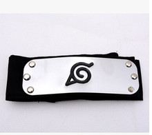 Fashionable Classic Unisex Naruto Forehead Guard Headband Cartoon Cosplay Accessories(China)