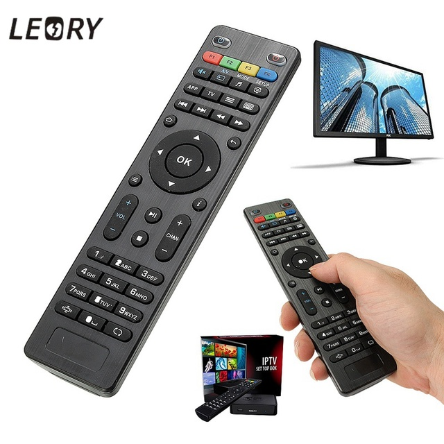 LEORY Replacement Remote Control For Mag254 Remote Controller For Mag 250 254 255 260 261 270 IPTV TV Box For Set top box