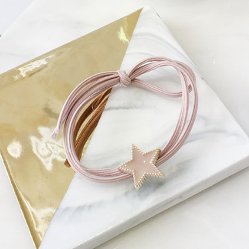 Hot Korean Star Girls Hair band Simple Elastic Hair Rope Women Ponytail Rubber Band Head rope in Women 39 s Hair Accessories from Apparel Accessories