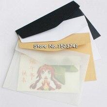 Free Shipping Wallet Envelope 100 Piece 17.5*12.5cm Korea Vintage Blank Translucent Vellum Envelopes Diy Ovely Gift Wholesale