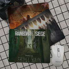 Babaite Non Slip PC Rainbow Six Siege Keyboard Gaming MousePads Top Selling Wholesale Gaming Pad mouse babaite vintage cool one piece keyboard gaming mousepads top selling wholesale gaming pad mouse